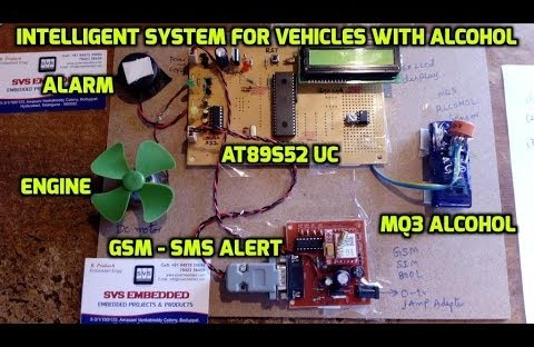 Intelligent System for Vehicles with Alcohol Detection and