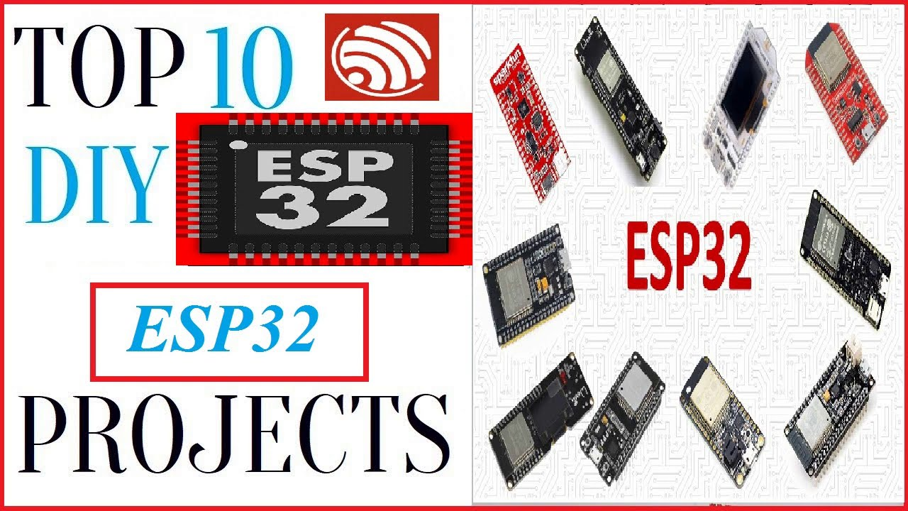 Top 10 Best ESP32 project ideas | IoT(Internet Of Things) Projects Of All Time | 2020